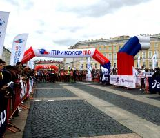 Results of TRICOLOR TV White Nights Marathon