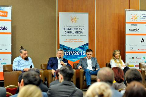 «Tricolor TV» took part in the Fifth International Forum «CONNECTED TV & DIGITAL MEDIA»