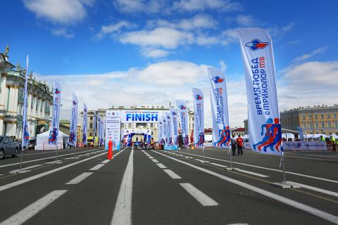 XXVIII International Marathon «TRICOLOR TV White Nights»: what was it like